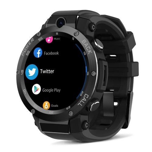 Zeblaze THOR S 1.39inch Super AMOLED 1GB+16GB 3G GPS Smart Watch