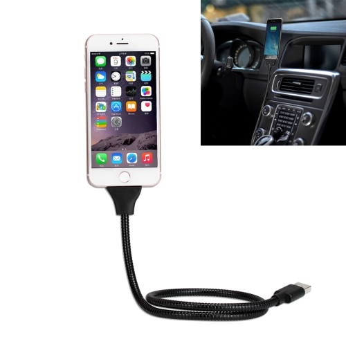 Multi-functional Metal Soft Hose Palm Holder for iPhone