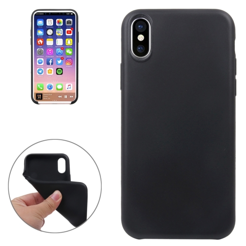 For iPhone 8 Classic Smooth Surface Soft TPU Protective CaseSmall Quantity Recommended Before iPhone 8 Launching(Black)