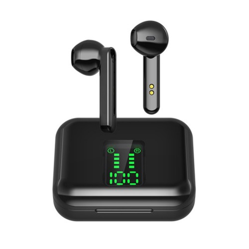 G12 Bluetooth 5.0 TWS Touch Digital Display Wireless Bluetooth Earphone with Charging Box
