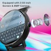 CLEPSYDRA LEMX 4G Android 7.1 With 8MP Camera GPS Smart Watch
